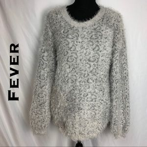 Fever Fuzzy Long Sleeve Sweater